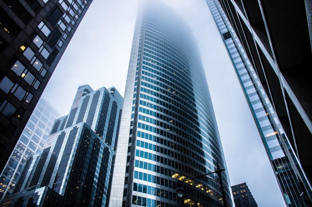 business office bulding city
